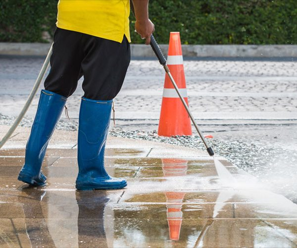 Pressure Wash Cleaning